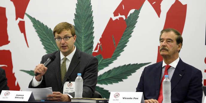 L'ex-président mexicain Vicente Fox prône la légalisation du cannabis, alors que la guerre menée par le gouvernement mexicain contre les narcotrafiquants a fait plus de 70 000 morts depuis fin 2006.