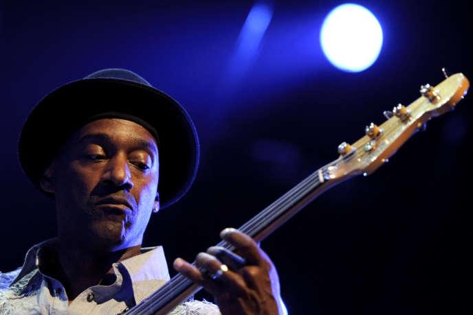 Le musicien Marcus Miller (ici à Montreux en 2011), jouait, dans le cadre du festival de Monte-Carlo.
