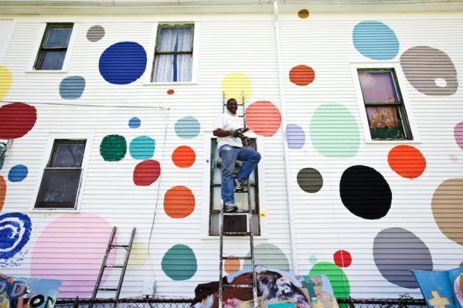 Tyree Guyton, artiste fondateur du Heidelberg Street Project.