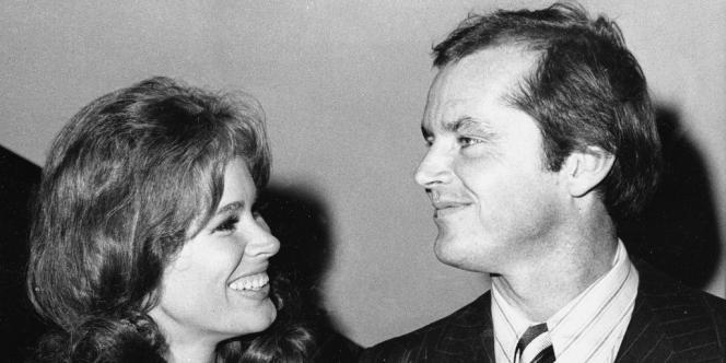 Karen Black et Jack Nicholson à la première du film