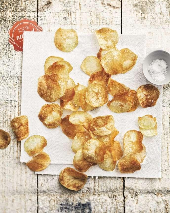 Les chips artisanales d'Estérelle Payany grasses  et salées comme des