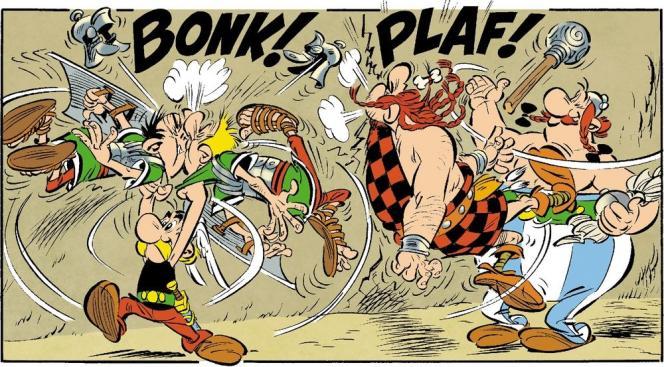 Pour la première fois depuis sa création en 1959, Astérix est officiellement dessiné par un autre illustrateur qu'Albert Uderzo. Didier Conrad (