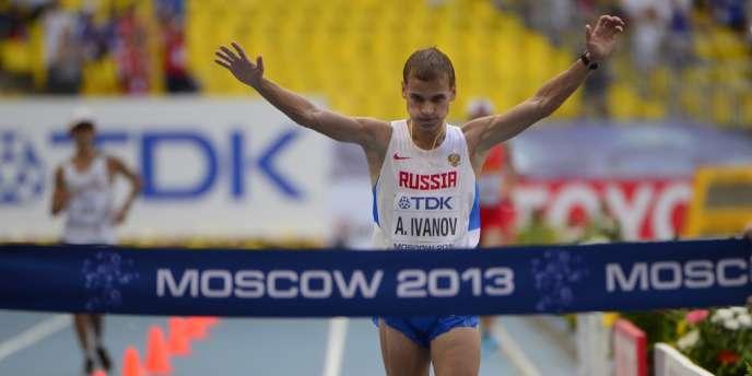 Le Russe Aleksandr Ivanov, le 11 août à Moscou.