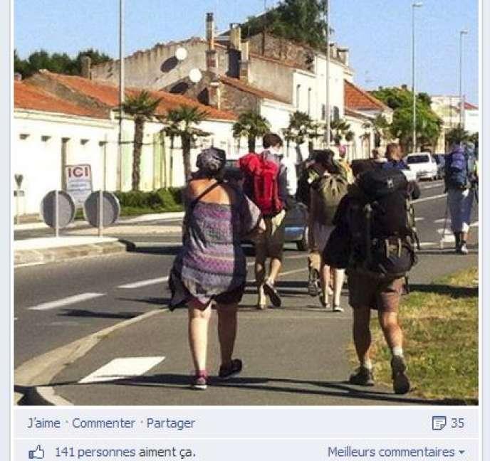 Photo sur la page Facebook officielle des veilleurs.
