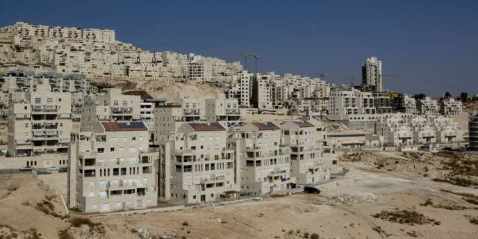 Colonie israélienne de Har Homa à Jérusalem-Est, en 2010.