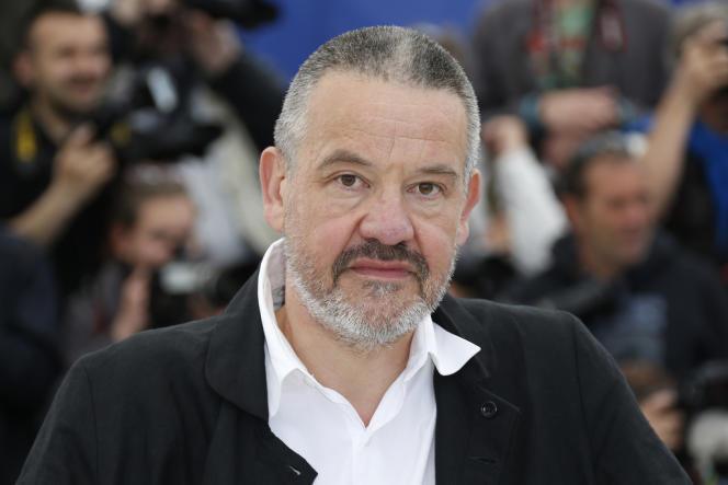 Le réalisateur Arnaud des Pallières au 66e Festival du film de Cannes, le 24 mai 2013.