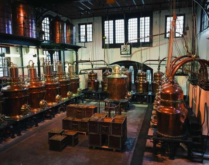La distillerie du Palais Bénédictine.