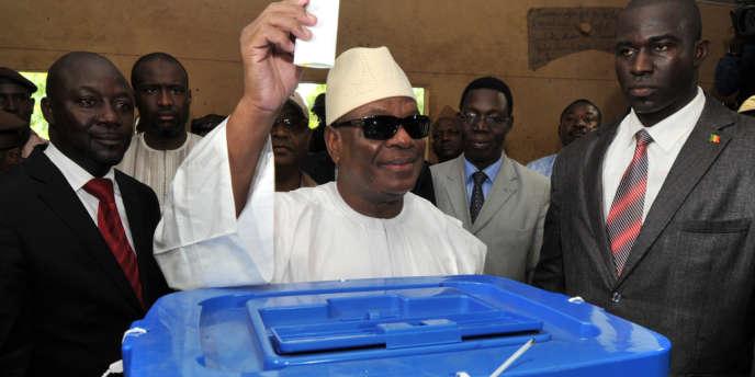 Ibrahim Boubacar Keïta est donné en tête aux deux tiers du dépouillement.