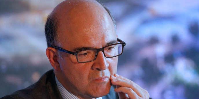 Pierre Moscovici, à Lyon le 30juillet2013.
