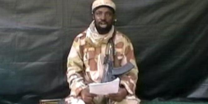 Le leader de Boko Haram, Aboubakar Chekau, dans une vidéo obtenue par l'AFP le 13 juillet 2013.