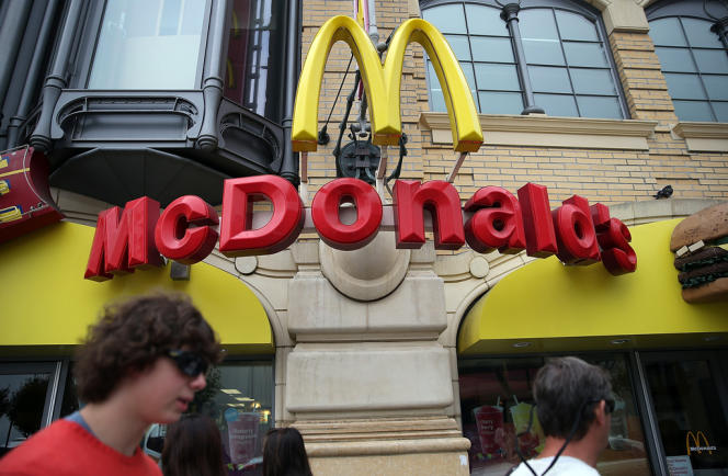 McDonald's affirme payer