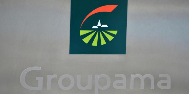 Logo de l'assureur Groupama.