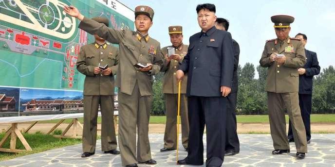Le leader nord-coréen Kim Jong-un, à Pyongyang.