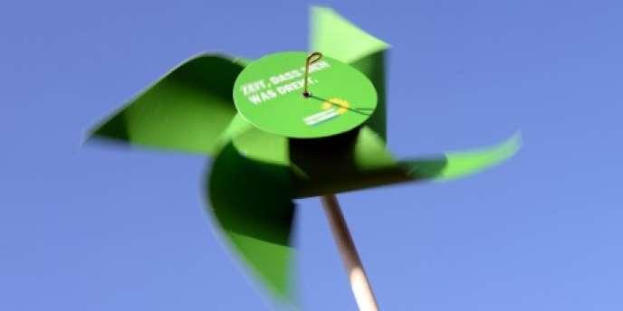 Le sigle des Verts allemands.