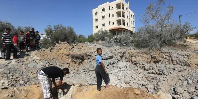 L'attaque a visé deux sites de lancement de roquettes, selon un porte-parole de l'armée israélienne.