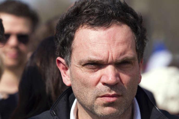 Yann Moix, le 25 mars 2012.