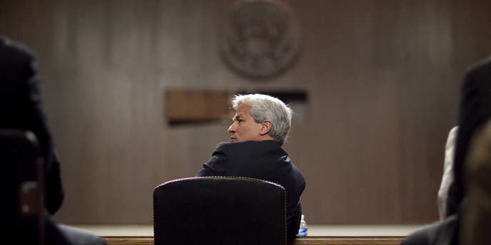 Jamie Dimon, PDG de JPMorgan Chase, lors de son audition au Sénat américain, le 13 juin 2012.