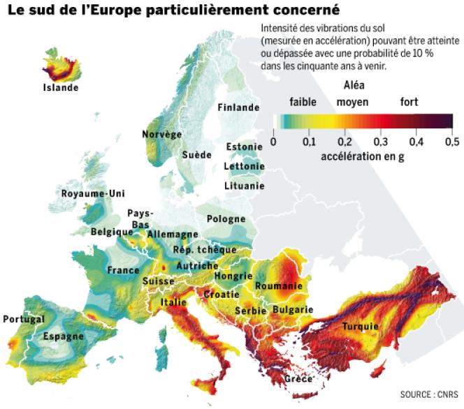 Une cartographie inédite devrait déboucher sur une réévaluation des normes parasismiques.