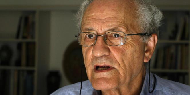 L'historien israélien Zeev Sternhell, en octobre 2008.