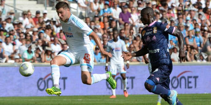 Pierre-André Gignac, le 17 août à Marseille.