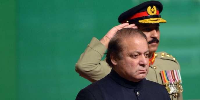 Le premier ministre, Nawaz Sharif, à Islamabad le 14 août 2013.