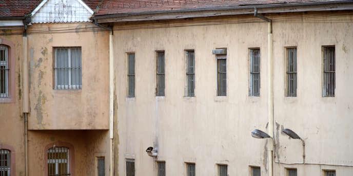 La prison d'Ensisheim, dans l'est de la France.