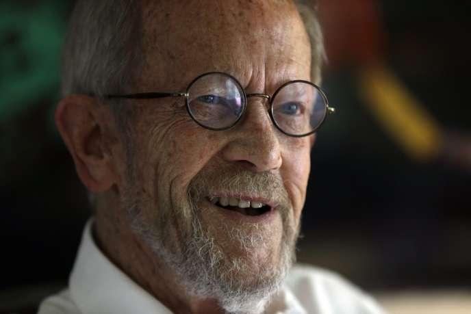 L'écrivain américain Elmore Leonard.