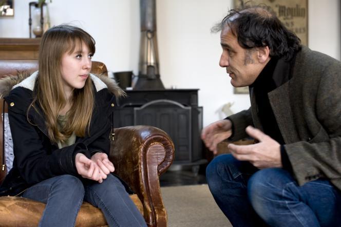 Lisa Féret et Frédéric Pierrot dans