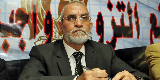 La justice avait ordonné l'arrestation de Mohamed Badie pour