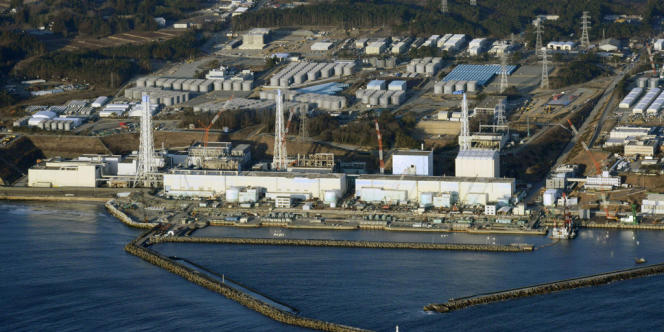 La centrale de Fukushima, au Japon.