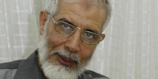 Mahmoud Ezzat, nommé chef par intérim de la confrérie, photographié en 2005.