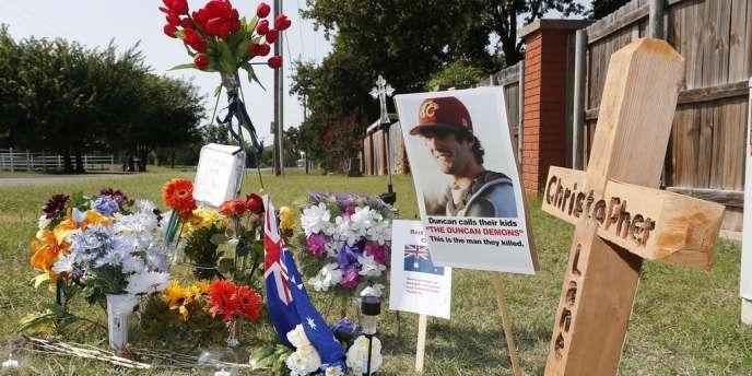 Christopher Lane, 22 ans, faisait son jogging à Duncan quand il a été abattu.