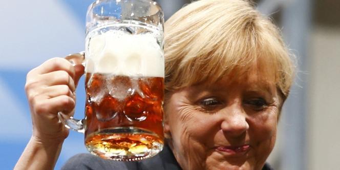 Angela Merkel à Dachau, le 20 août.
