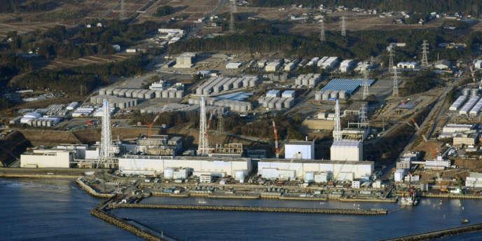 La centrale de Fukushima, le 11 mars 2013.