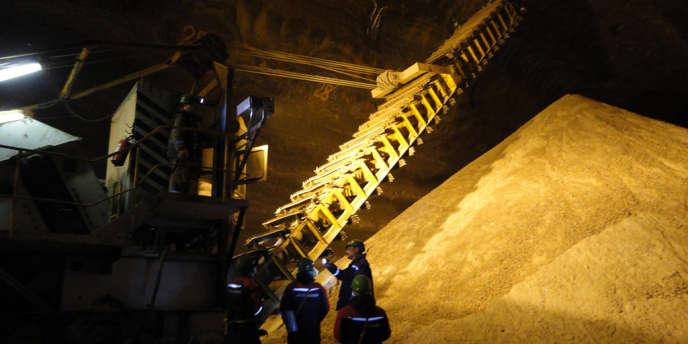 La mine de Berezniki (Russie) fournit à Uralkali l'essentiel de la potasse destinée à fabriquer des engrais dont la Chine, l'Inde et le Brésil sont particulièrement demandeurs.