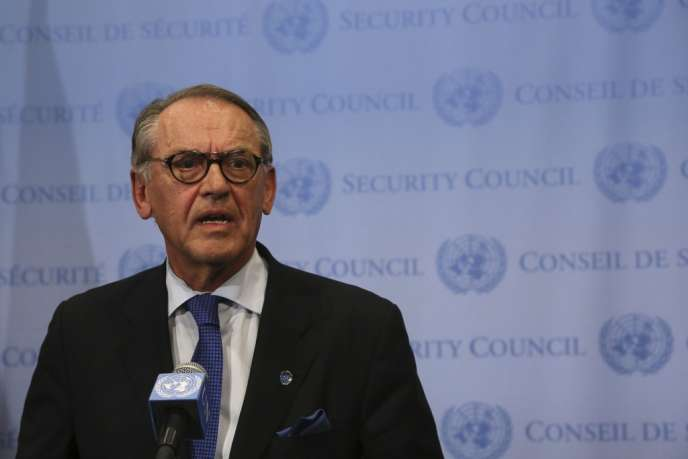 Le secrétaire général adjoint des Nations unies, Jan Eliasson, le 21 août à New York.
