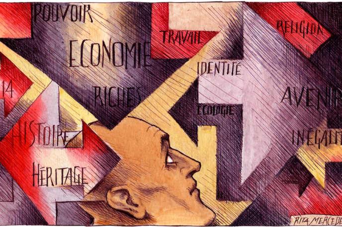 Une illustration de Rita Mercedes.