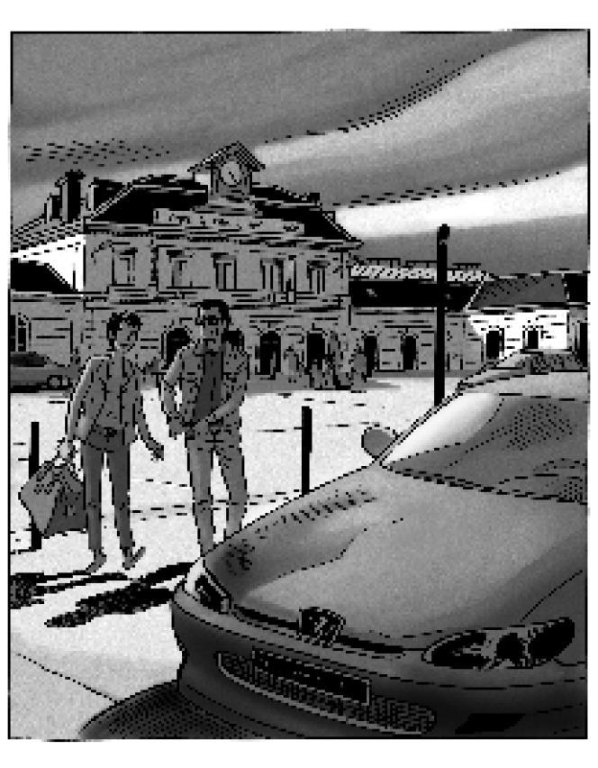 Une illustration de Jean-Claude Denis pour « Hématomes ».