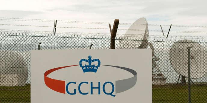 Une installation du GCHQ, le service de renseignement électronique du gouvernement britannique à Cornwall, dans le sud-ouest de l'Angleterre.