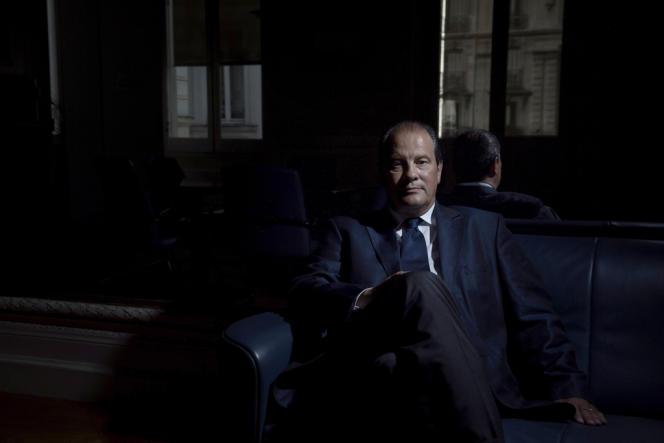 Jean-Christophe Cambadélis, député de Paris, au siège du Parti socialiste, le 21 août.