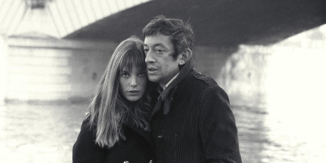 Jane Birkin et Serge Gainsbourg en 1969.