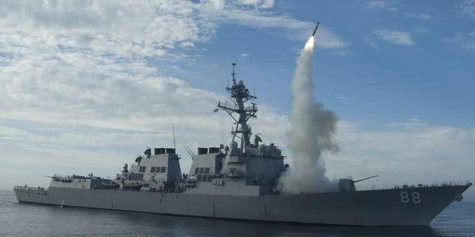 Quatre destroyers de la VIe flotte américaine croiseront en Méditerranée.