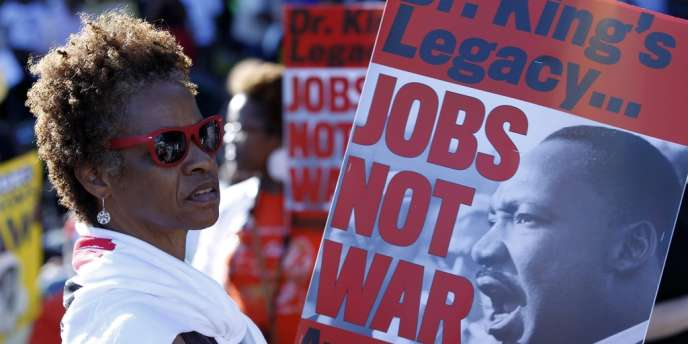 Plusieurs dizaines de milliers de personnes ont convergé, samedi 24 août, vers Washington pour célébrer le 50e anniversaire du discours de Martin Luther King.