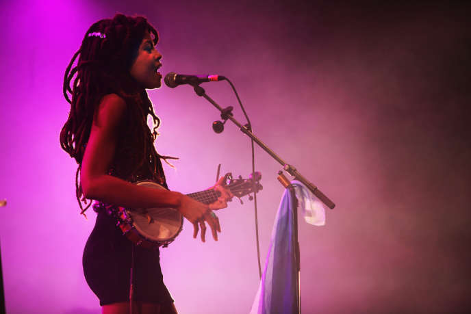 Valerie June au festival Rock en Seine, samedi 24 août 2013