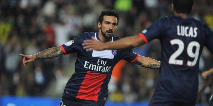L'attaquant parisien Ezequiel Lavezzi sera l'un des atouts du PSG cette saison en Ligue des Champions.