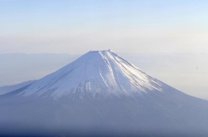 Le mont Fuji, en 2010.