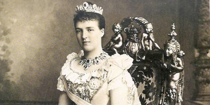 La reine Marie-Amélie d'Orléans.