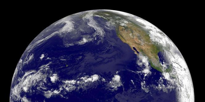 Vue de la Terre diffusée par la NASA.