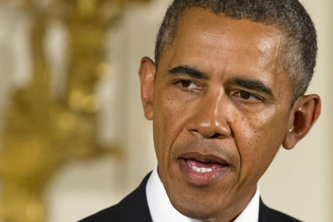 Barack Obama, le 26 août à la Maison Blanche.