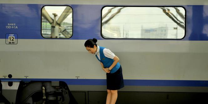 A la gare de Séoul, le 28 août 2013.